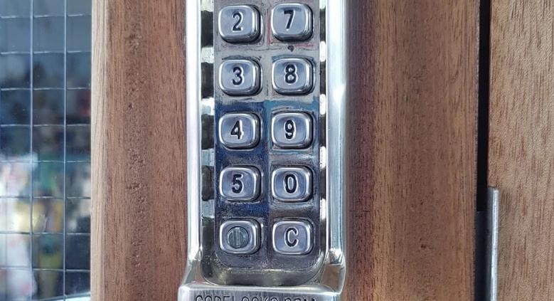 Coded Lock at St Marys
